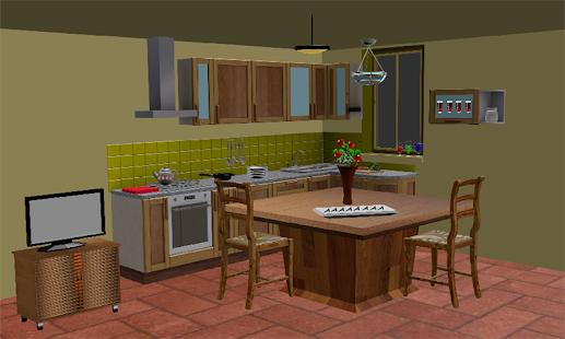 uniknout hry hádanka Kuchyň 2 - náhled