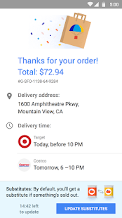 Google Express Screenshot 4