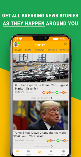 NOOX - Unlimited News and Discussions 9.1.6 screenshots 2