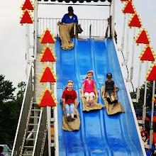 Photo: It's slippery fun