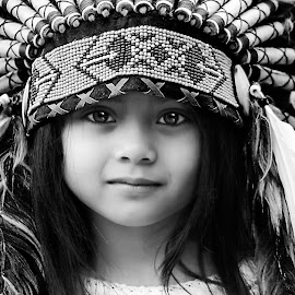 by Luna Almira  Ali - Black & White Portraits & People