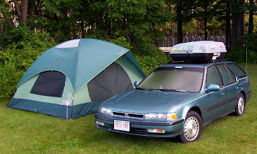 Photo: The matching car and tent set - 2004