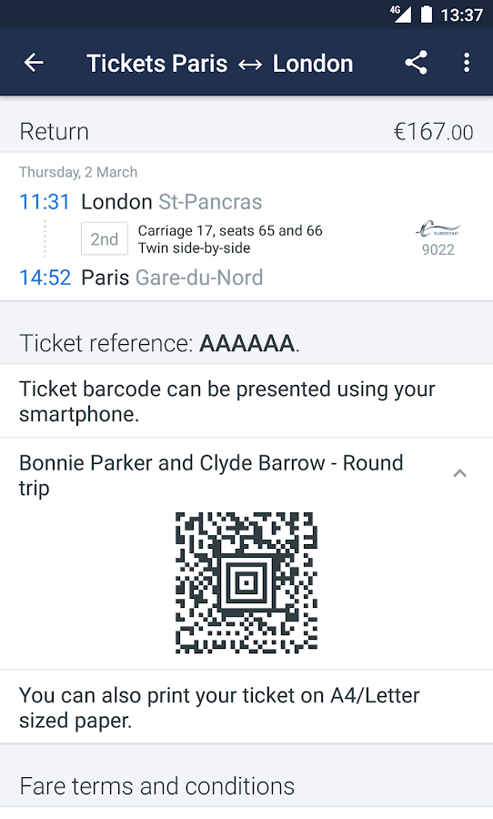 Trainline EU: Train Tickets- screenshot