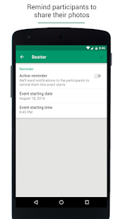 Beatter - Share photos- screenshot thumbnail