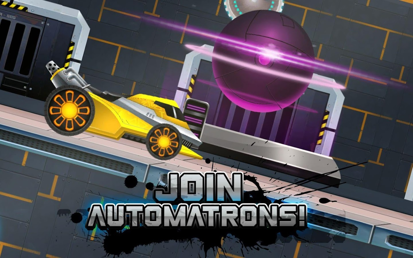 Automatrons: Shoot and Drive- screenshot