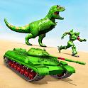 Tank Robot Car Game 2020 – Robot Dinosaur Games 3d icon
