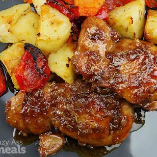 Easy Honey Balsamic Chicken.
