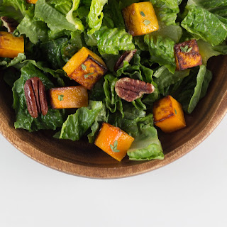Butternut Squash Salad with Thyme Vinaigrette