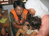 Photo: インドネシア国際緊急援助活動(H17) 医療活動