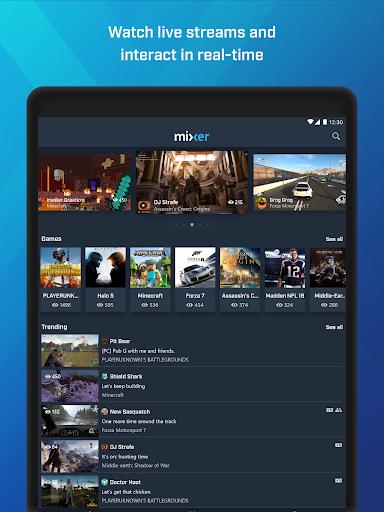 Mixer u2013 Interactive Streaming 3.1.0 screenshots 12
