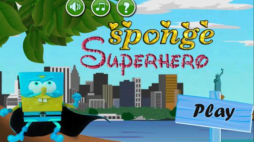 Sponge Superhero