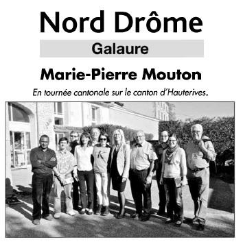 Marie-Pierre Mouton à L'Arche de La Vallée