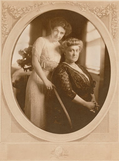 Laura Nelson Kirkwood and Ida Nelson