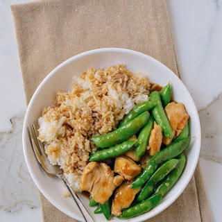Chicken and Snap Pea Stir-Fry.