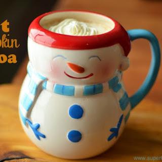 Hot Pumpkin Cocoa for Kids