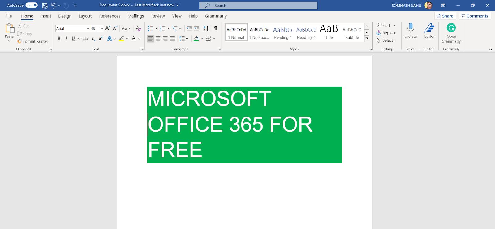 Download Microsoft 365 Free