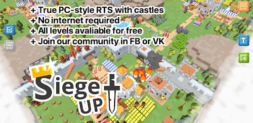 RTS Siege Up! Mod APK 1.0.129