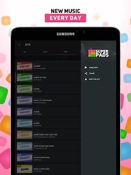 SUPER PADS - Кліки APK screenshot thumbnail 7