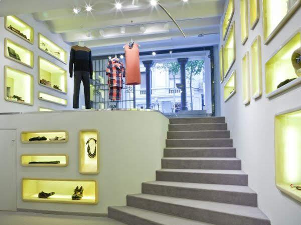 thiết kế shop thời trang Marni 2