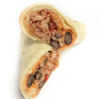 Chicken and Black Bean Freezer Burritos.