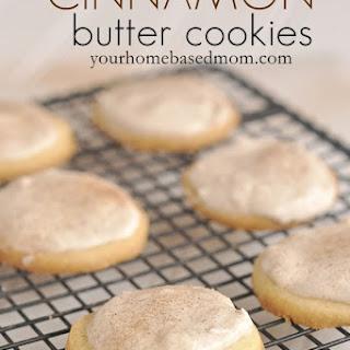 Cinnamon Butter Cookies.