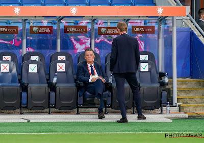 """Van Gaal begint met een gelijkspel: """"Iedereen denkt dat Oranje een wereldelftal is, maar dat zijn we niet"""""""