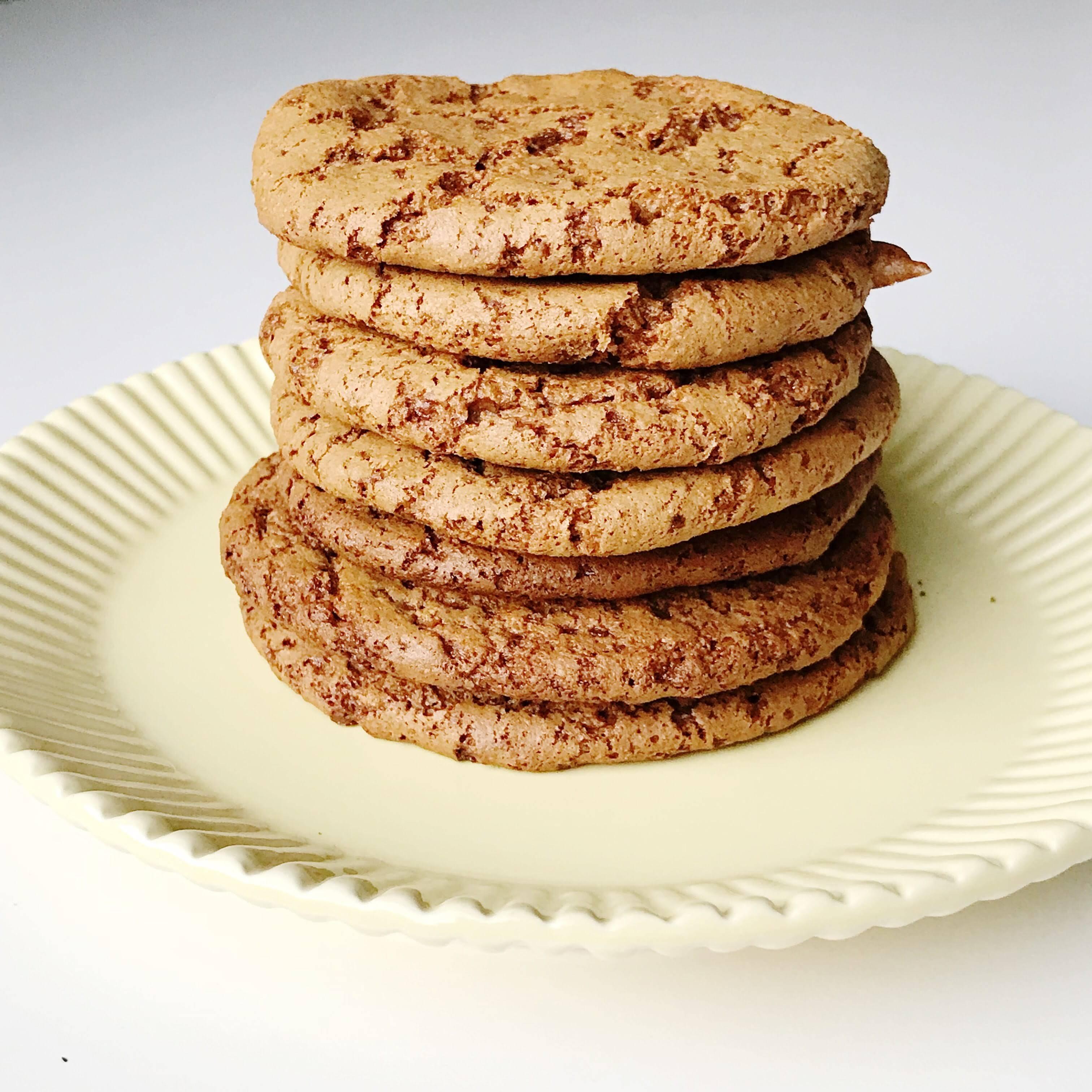 Gingersnap Cookies (Grain free & dairy free)
