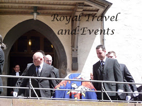 Photo: The coffin is carried out of the Church