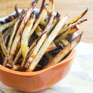 Baked Skinny Fries (Made with Potatoes and Turnips!)