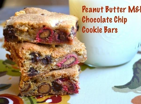 Peanut Butter Chocolate Bars W/m&ms Recipe