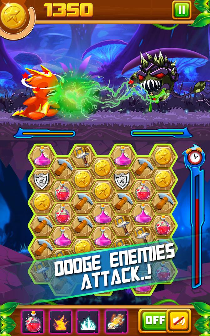 Slug Match 3 RPG Android 5