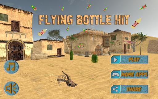 Flying Bottle Hit