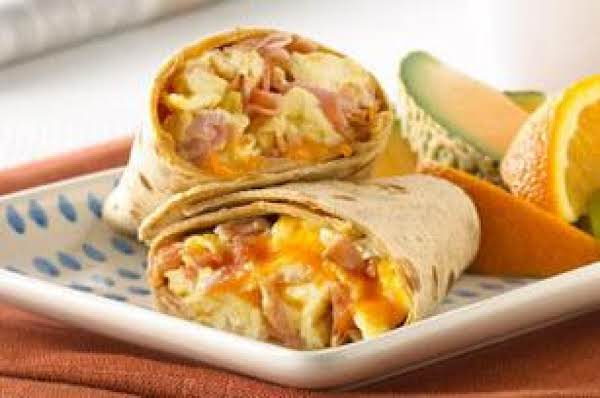 Ham & Egg Wraps Recipe