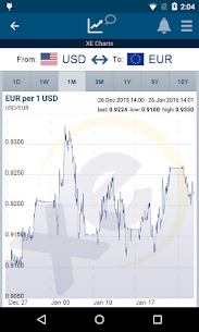 XE Currency Pro v4.6.1 APK 2