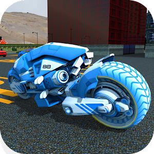 Sci Fi Bike Parking & Driving School 3D for PC