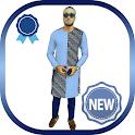 New African Men Fashion Colorful Ankara Design2020 icon