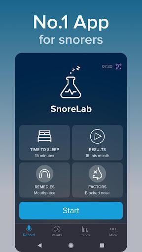 SnoreLab screenshot 3