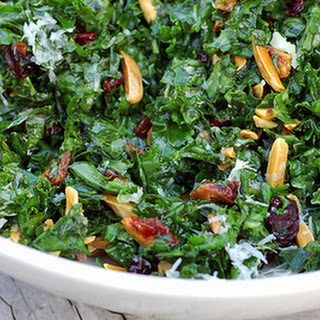 Addictive Citrus-Massaged Raw Kale Salad