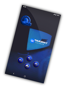 Orbic Blue Icons Pack Screenshot