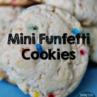 Mini Funfetti Cookies