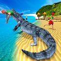 Hungry Crocodile Attack 2019: Crocodile Games icon