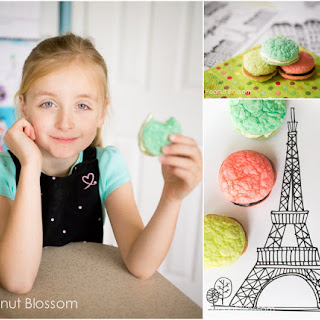 Sweet Trio of Macarons for Kids Recipe
