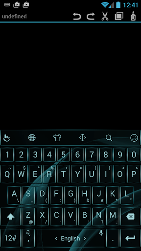 Theme TouchPal Gate Aqua