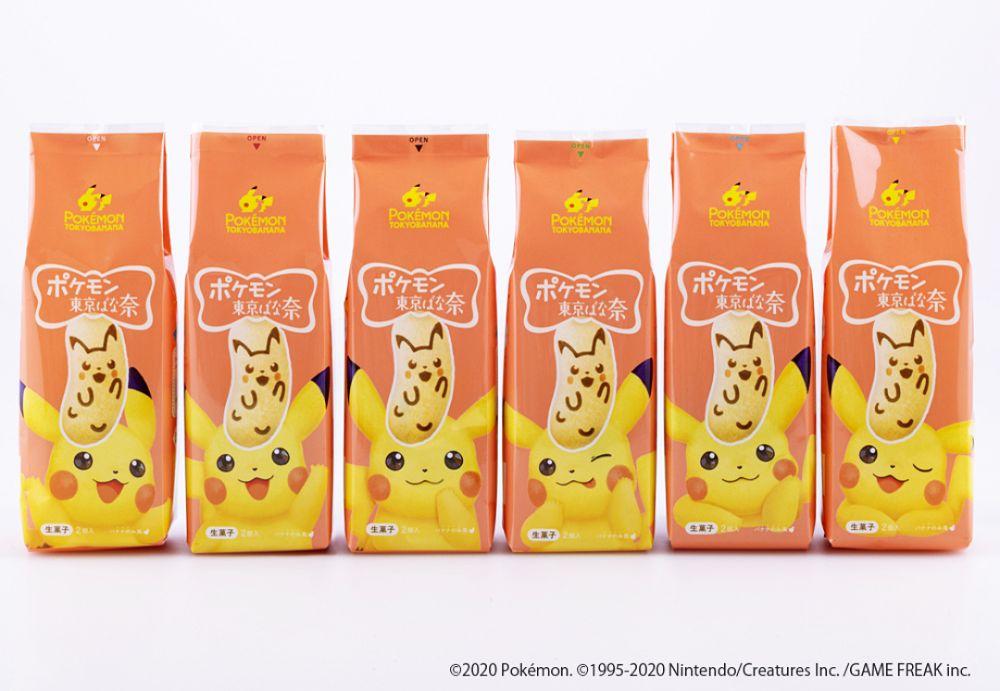 東京芭娜娜 tokyo banana 聯名 寶可夢 pokemon 療癒 日本零食 日本伴手禮