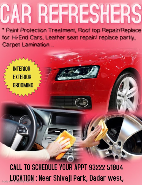 Car Refreshers Car Interior Cleaning Exterior Polishing