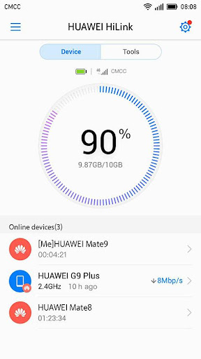 Huawei HiLink (Mobile WiFi) 9.0.0.306 screenshots 1