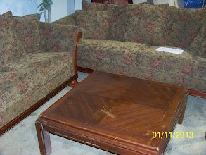 Photo: Sofa Set $175 Table $30