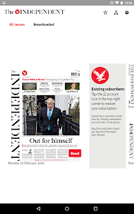 The Independent Daily Edition Screenshot