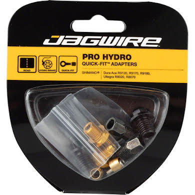 Jagwire Pro Disc Brake Hydraulic Hose Quick-Fit Adaptor for Shimano Dura Ace/Ultegra