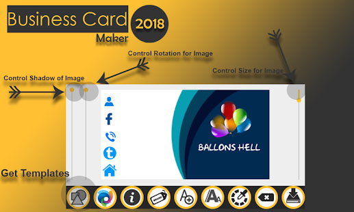 Download free business card maker 2018 visiting card maker pro for download free business card maker 2018 visiting card maker pro for pc on windows and reheart Gallery